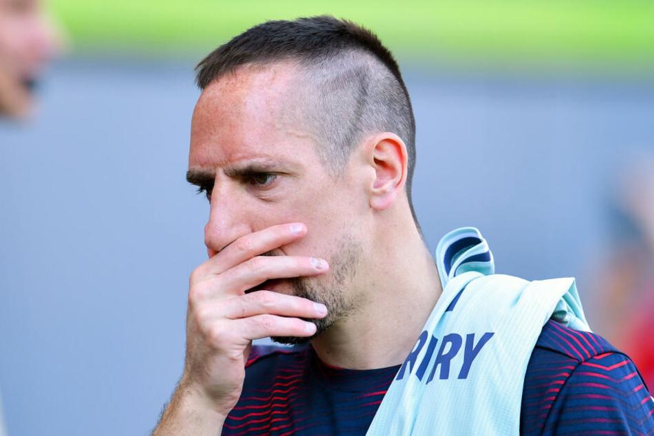 Franck Ribéry wird nicht für den FC Bayern München auf dem Platz stehen. (Archivbild)