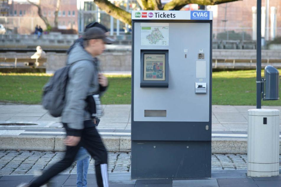 Bis 2. Januar schaltet die CVAG ihre Ticket-Automaten ab.