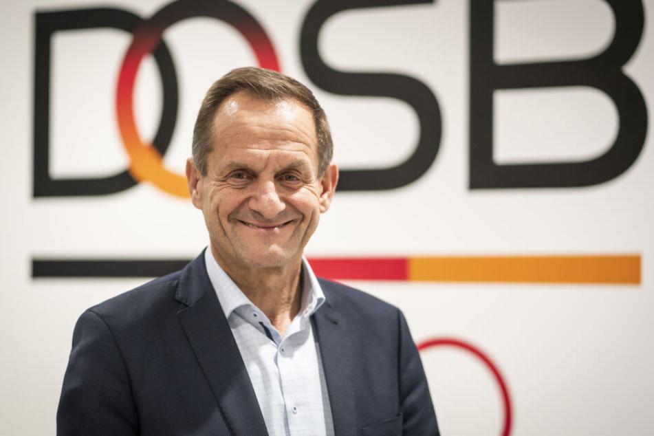 DOSB-Präsident Alfons Hörmann (59) erklärte die Vorentscheidung für die Bewerbung für Olympia 2032.