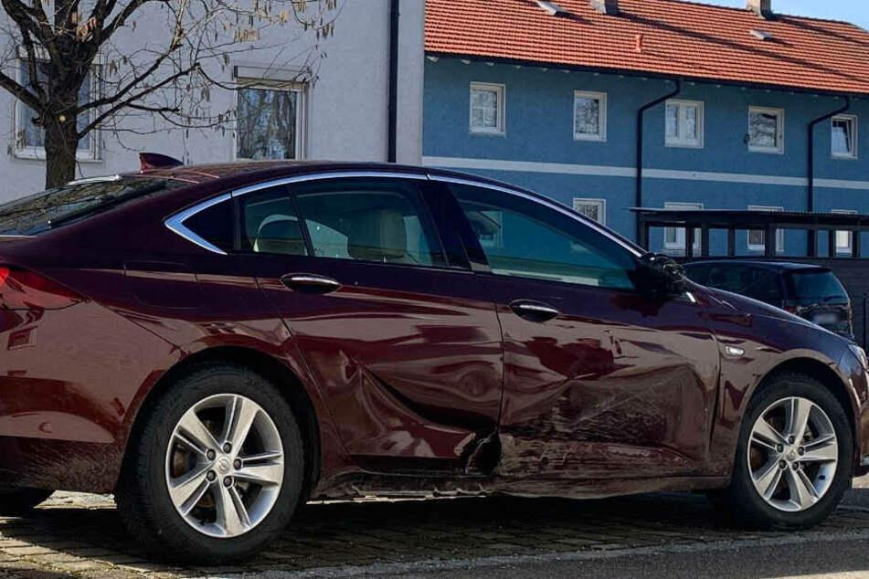 Das Auto von Manuela K. wurde im Norden von Traunstein aufgefunden.