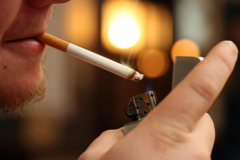 Die Kombination von Zigarette und Spray ergab ein gefährliches Gas-Luft-Gemisch.