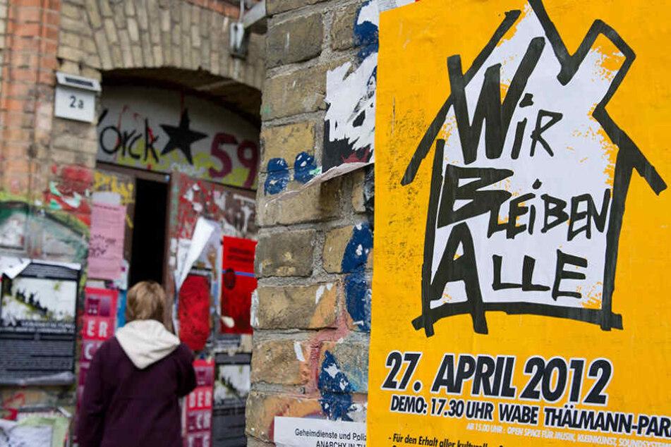 Seit Jahren protestieren die Kreuzberger gegen die Verdrängung in ihrem Bezirk.