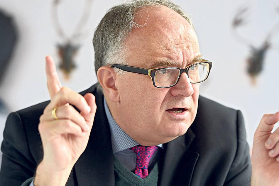 Christian Striefl er (54) ist Geschäftsführer beim Schlösserland Sachsen.