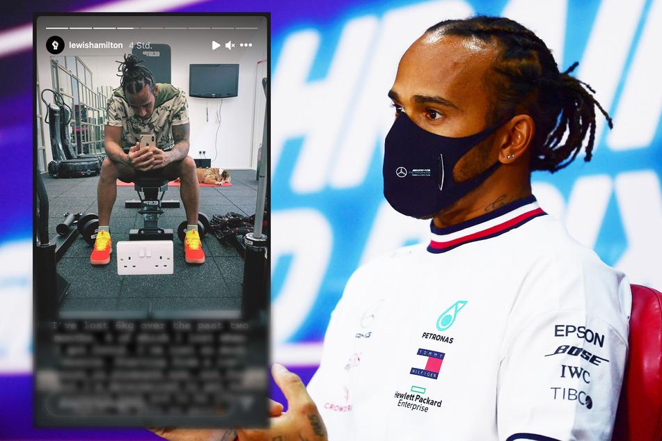 Abgenommen und Muskeln abgebaut! Lewis Hamilton berichtet von Corona-Infektion
