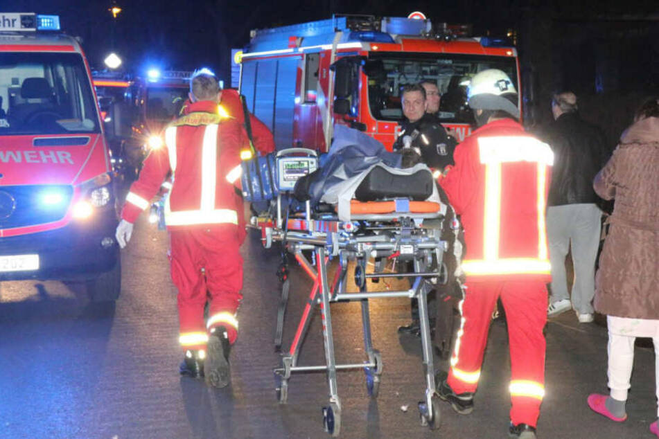 Ein Mann starb noch vor Ort, eine Frau später im Krankenhaus.
