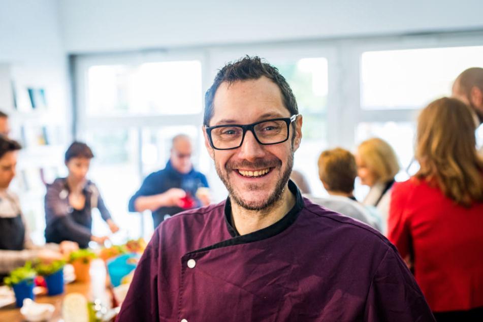 Kulinarischer Songcontest: TV-Koch Mirko Reeh (40) sucht musikalische Köche aus Sachsen.
