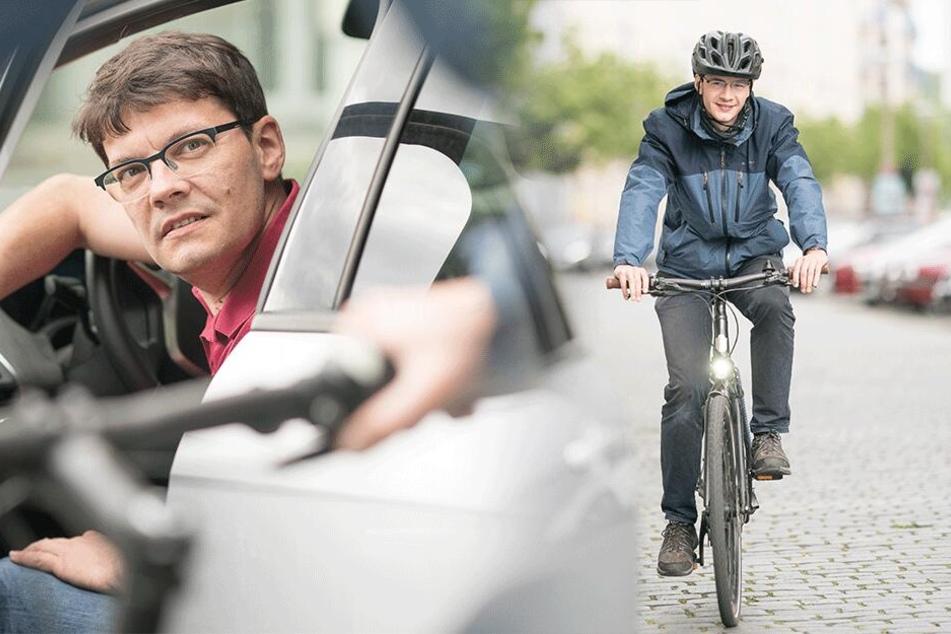 Gegen Radel-Unfälle: Politiker fordert den Holländer-Griff