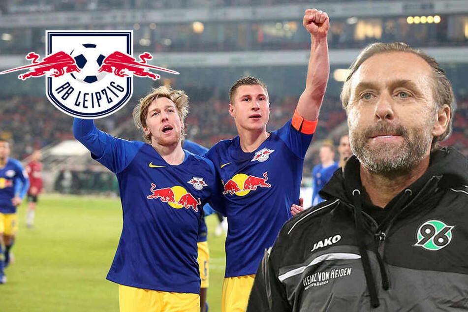 """""""Nicht übermäßig stark"""": RB Leipzigs 3:0-Auftritt lässt neuen 96-Coach Doll kalt"""