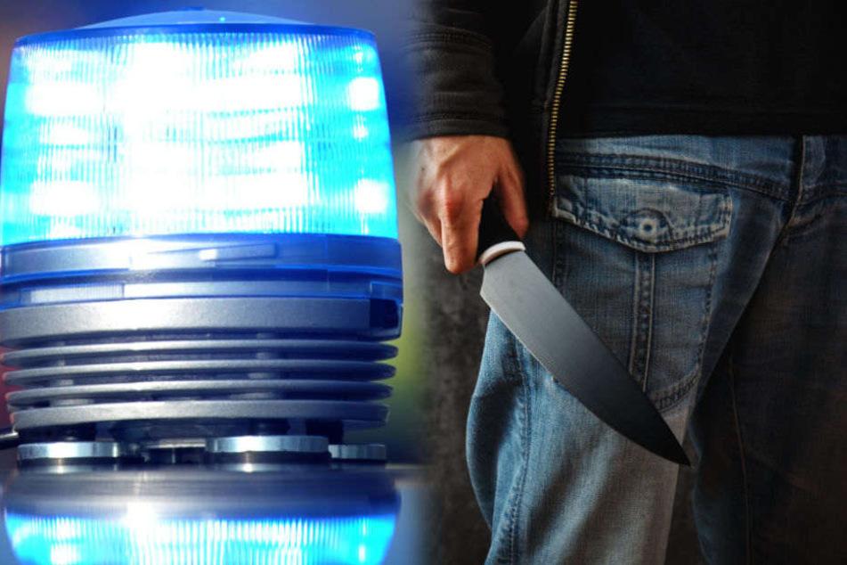 In Bremen wurde eine Mann mit einem Messer schwer verletzt. (Symbolbild)