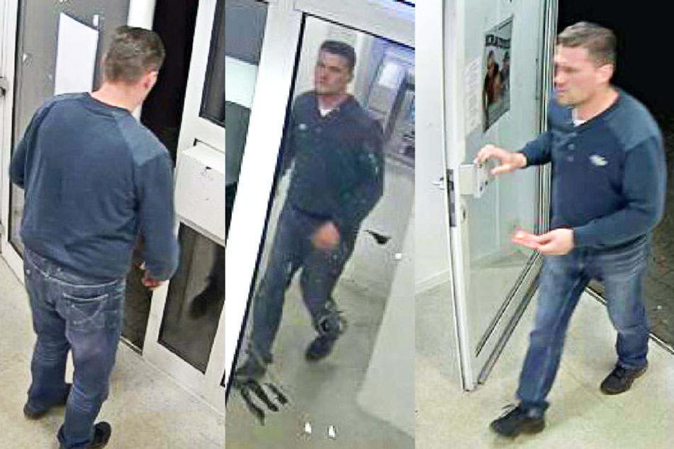 Wer erkennt den Mann? Er raubte eine Frau (38) aus.
