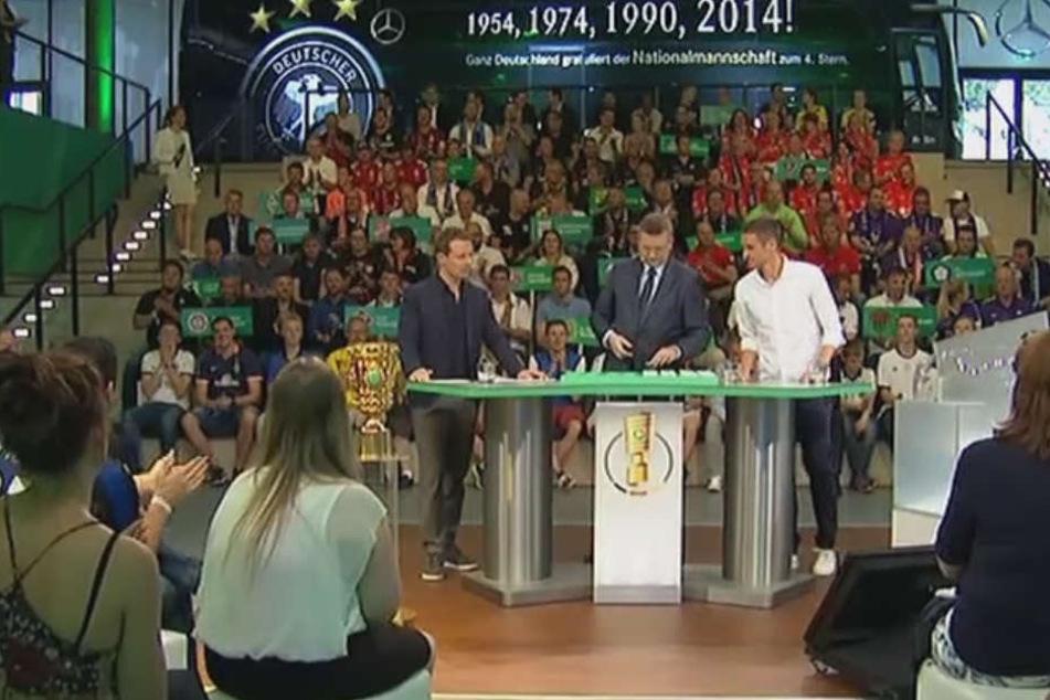 Unterschiedliches Losglück hatten die Vereine aus Berlin uns Brandenburg bei der Auslosung zur ersten DFB-Pokal-Runde.
