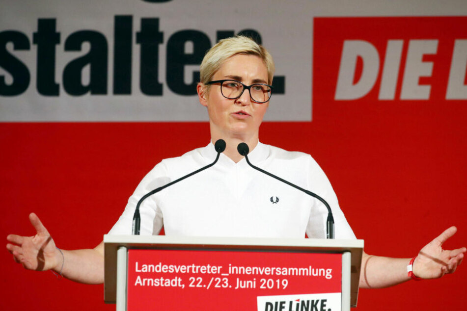 Susanne Hennig-Wellsow soll sich an den Sitzblockaden beteiligt haben.