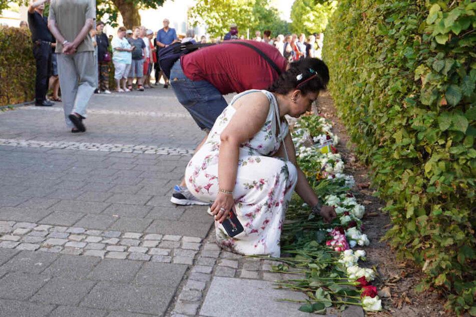 Nach der Tat hatten sich viele Menschen in Offenburg an einem Trauermarsch beteiligt.