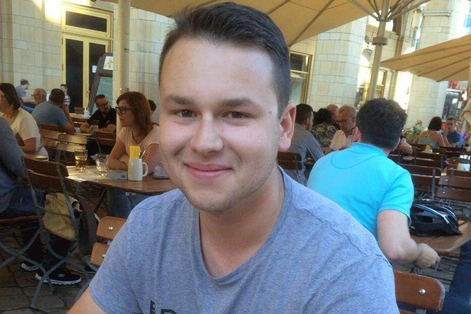 Robin Rottluff (23, Chemnitz nazifrei)