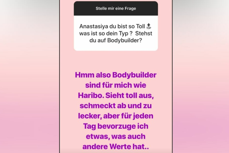 In ihrer Instagram-Story beantwortete das Playmate Fan-Fragen - und gab auch preis, was ihr an einem Mann gefällt.