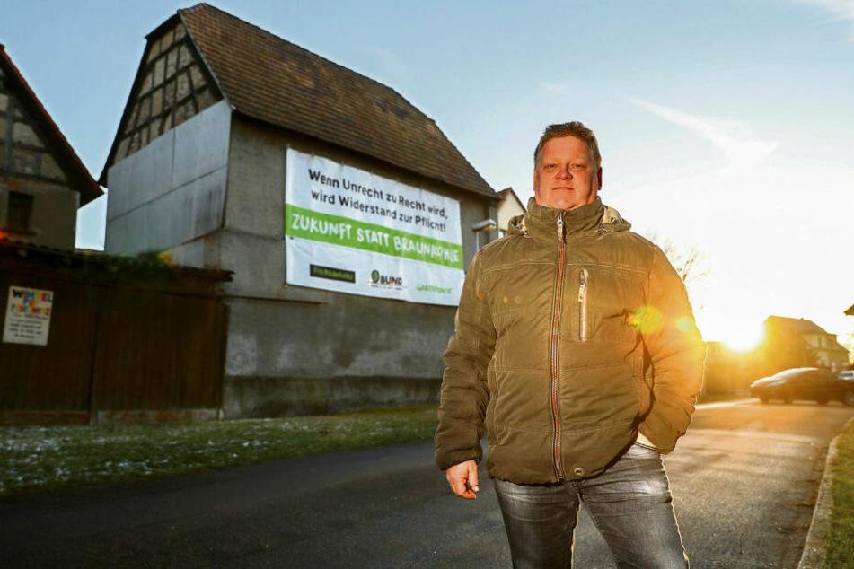 Bauer Jens Hausner will bleiben.