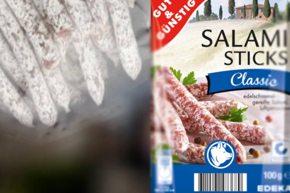 Salmonellen-Gefahr! Edeka, Netto und Co. rufen Salami Sticks zurück