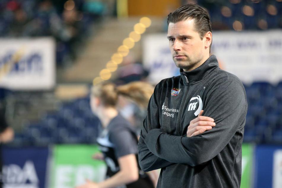 HCL-Trainer Norman Rentsch erlebte in Celle einen Abend zum Vergessen.