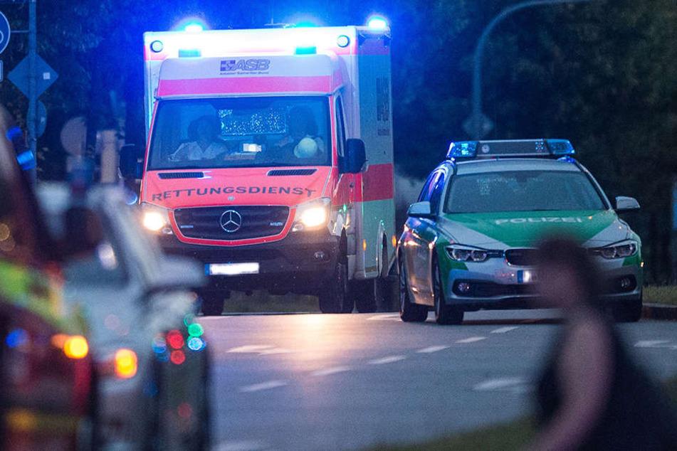 Für den Beifahrer kam bei diesem Unfall leider jede Hilfe zu spät.