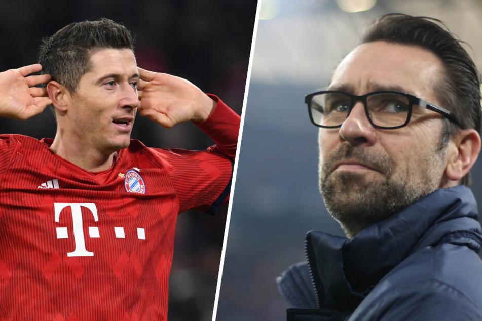 """""""Sterbender Schwan"""": Hertha-Manager schimpft über Bayern-Star Lewandowski!"""