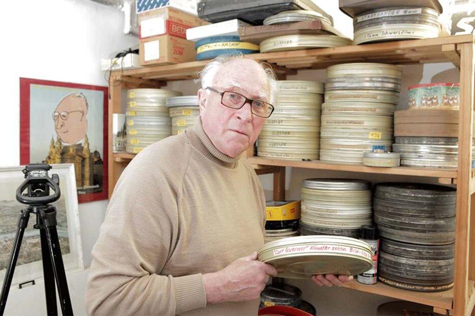 Filmemacher Ernst Hirsch (82) kennt das alte Dresden wie kein Zweiter.