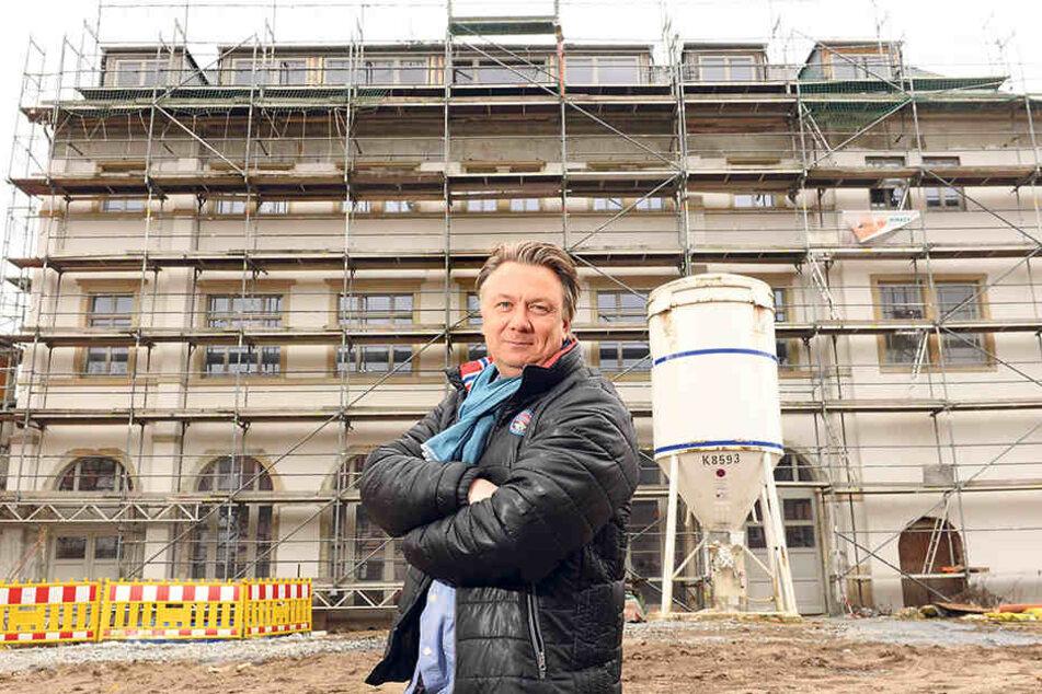 Wartet seit 12 Jahren auf sein Restaurant im Demnitz: Andreas Wünsche  (52).