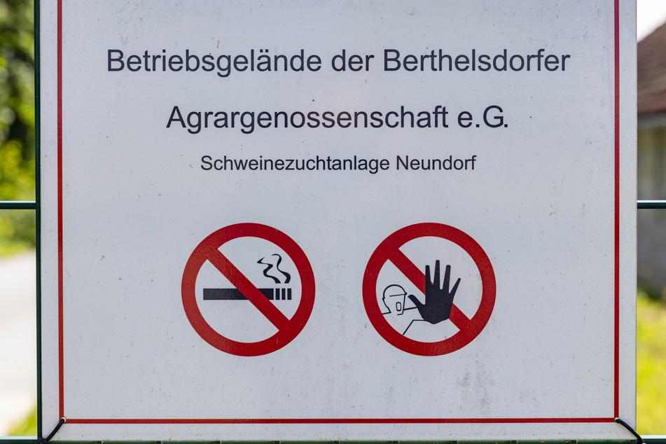 Im Umfeld der Anlage ist fast alles verboten.