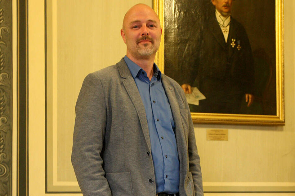 Will neuer Oberbürgermeister werden: Nico Köhler, AfD.