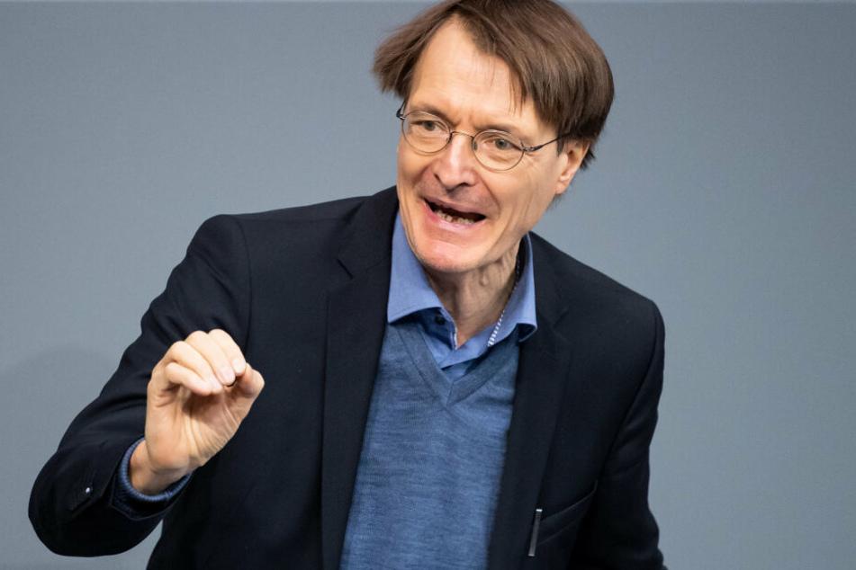SPD-Politiker Karl Lauterbach fordert die Absage der TV-Show.