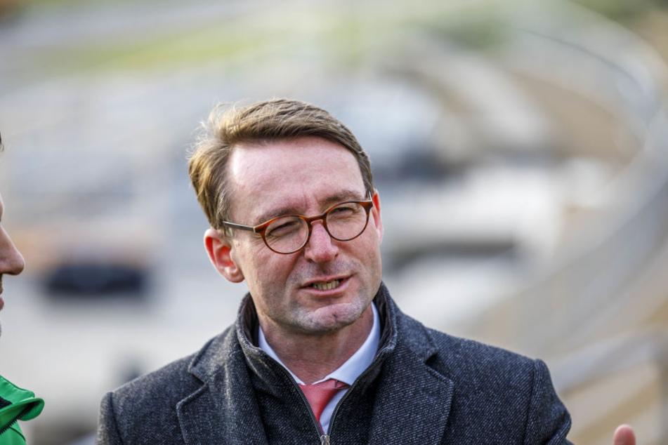 Sachsens Innenminister Roland Wöller (47, CDU)