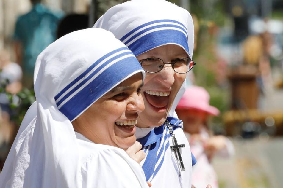 Noch heute kümmern sich Ordensschwestern auf dem Sonnenberg um Bedürftige.
