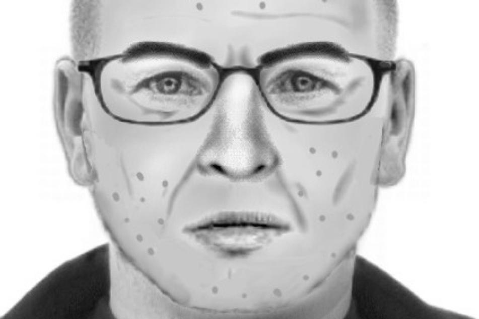 Mit diesem Phantombild fahndete die Polizei im vergangenen Jahr nach dem Kinderschänder aus Leipzig.