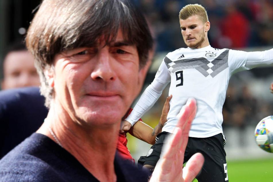 """""""Ich freue mich, dass er Bundestrainer geblieben ist"""", so Werner über Nationaltrainer Löw. (Symbolbild)"""