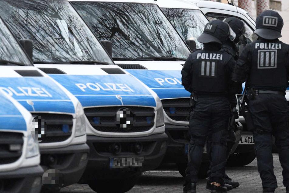 Die Polizei ging in der Vergangenheit schon einige Male gegen Islamisten im Rhein-Main-Gebiet vor (Archivbild).