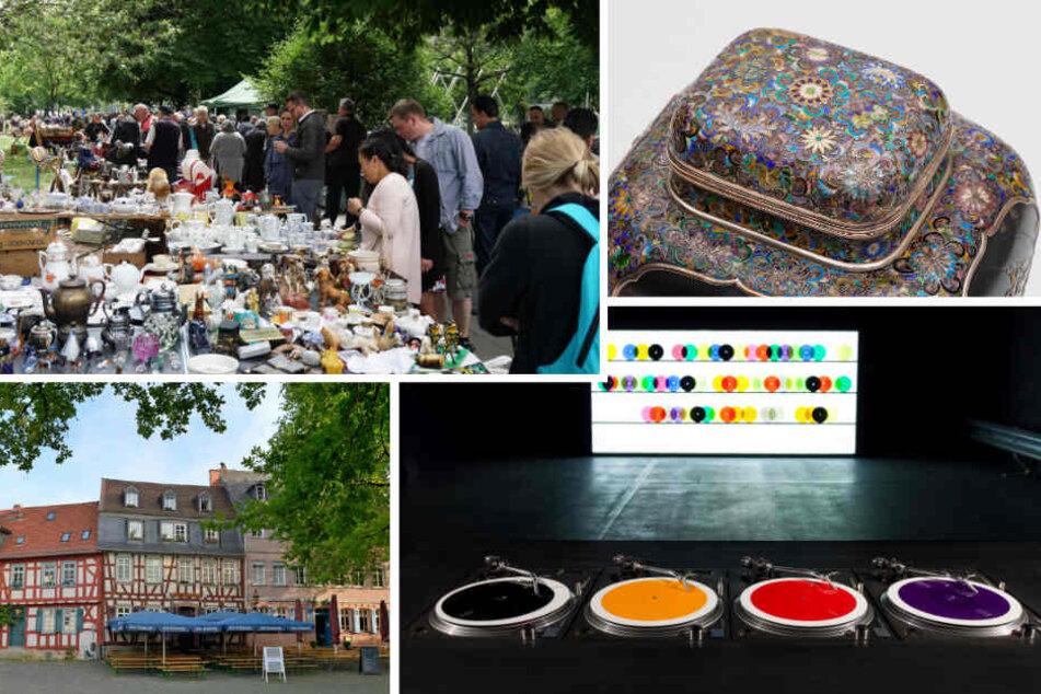 Kunst, Flohmarkt, Stadtfest: Hier geht es am Samstag rund