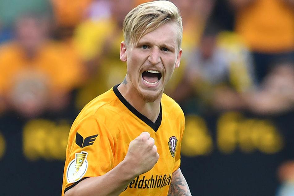 Marvin Stefaniak (21) ist nicht nur Leistungsträger, sondern auch Vize-Kapitän bei Dynamo.