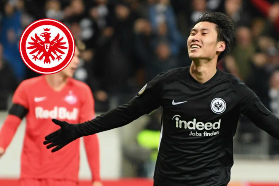 """Kamada-Gala für die Eintracht: """"Wir sollten nur noch donnerstags spielen"""""""