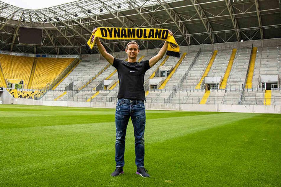 Chris Löwe im Dynamo-Land. Die Schwarz-Gelben bekommen keinen Profi von der Stange, sondern einen mit klarer Meinung und viel Erfahrung.