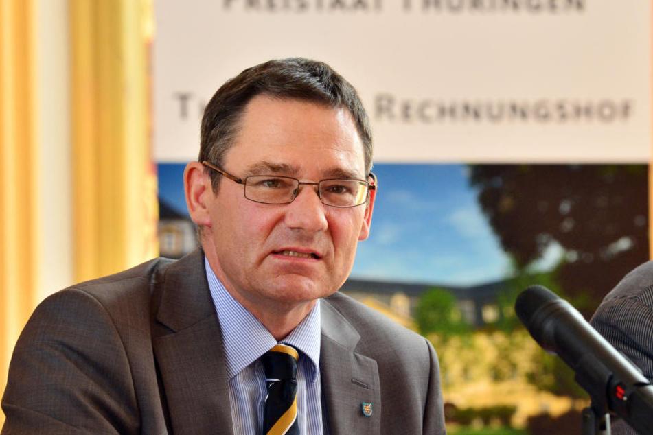 Rechnungshofpräsident Sebastian Dette.