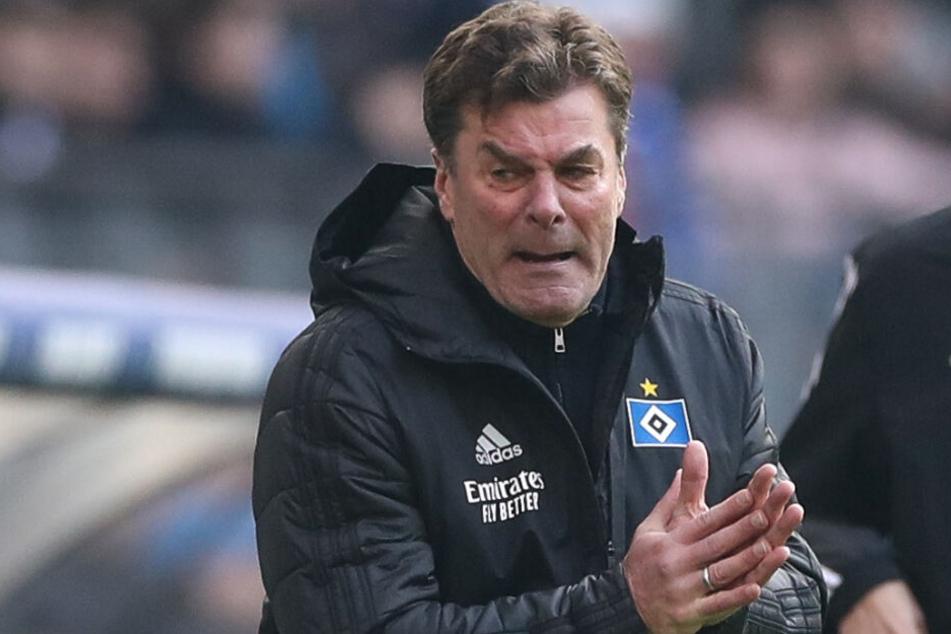 Dieter Hecking treibt seine Mannschaft immer wieder nach vorne.