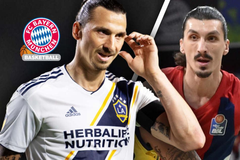 Er sieht aus wie Zlatan! Dieser Bayern-Spieler wird ständig mit Ibrahimovic verwechselt