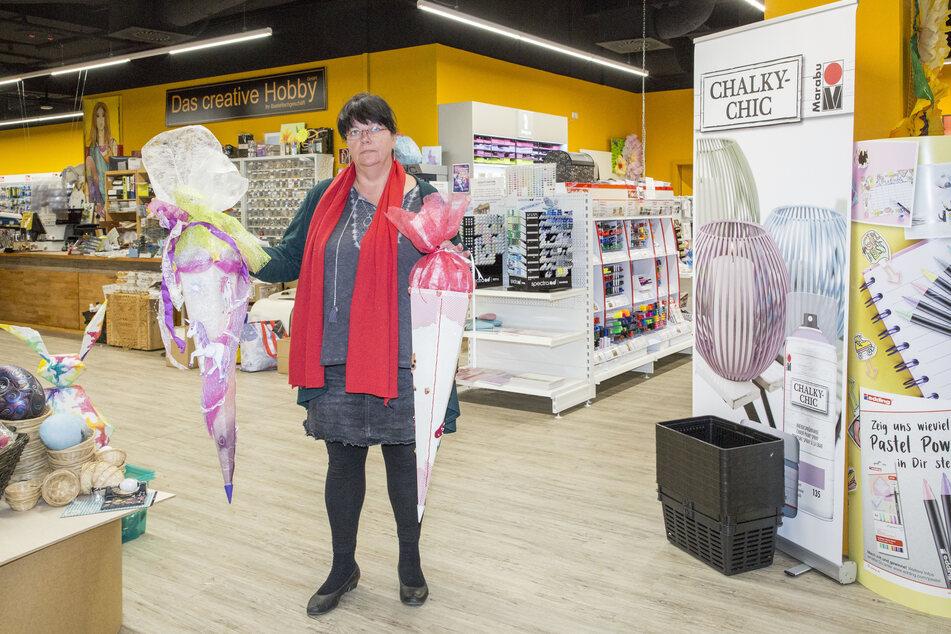 Manuela Schwenke darf ihr Geschäft Das kreative Hobby in der AltmarktGalerie nicht öffnen.
