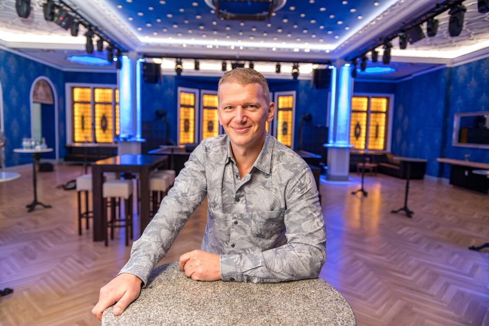 """Parkhotel-Besitzer Jens Hewald (49) freut sich schon auf die Events im """"Blauen Salon""""."""