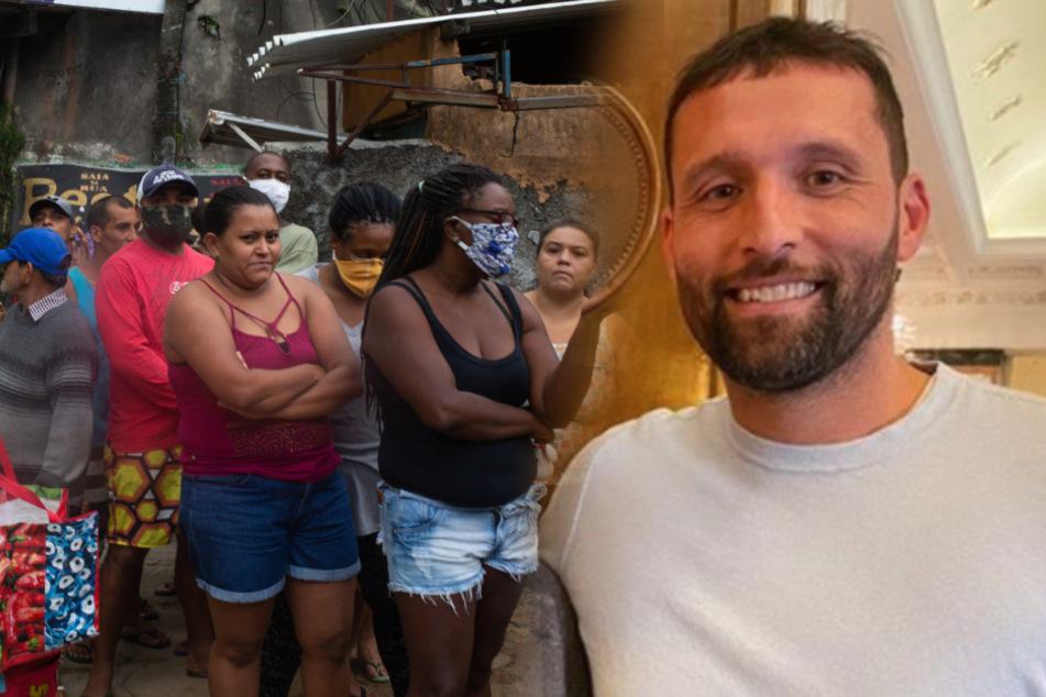Coronakrise in Rio: So hilft Ex-Nationalspieler Kevin Kuranyi den Ärmsten
