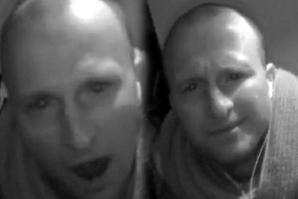 Leipzig: Grinsender Ganove klaut laufende Überwachungskamera