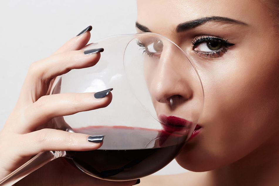 Rotwein ist gut für Herz und Muskeln.