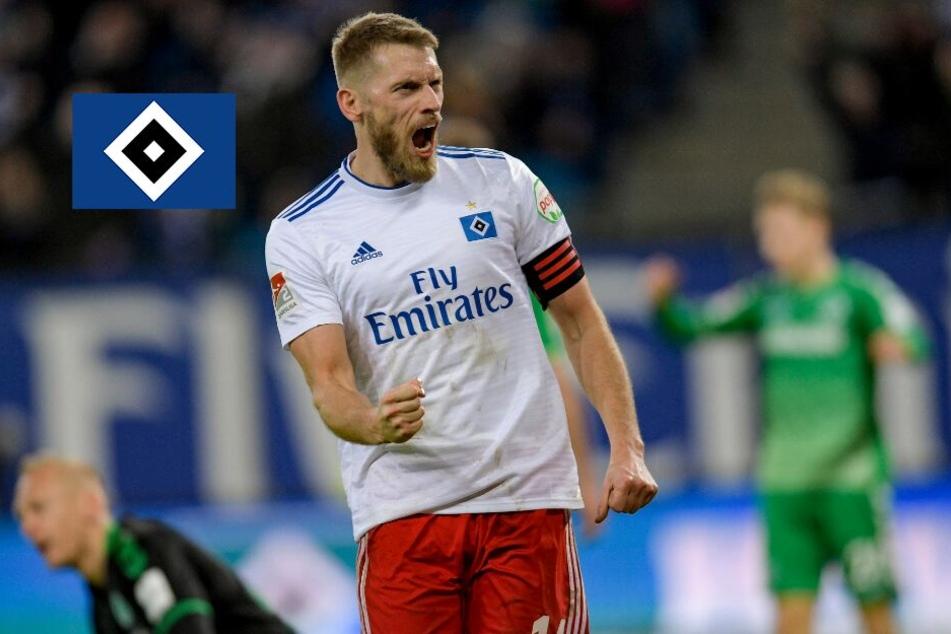 Aaron Hunt bleibt Kapitän beim HSV!