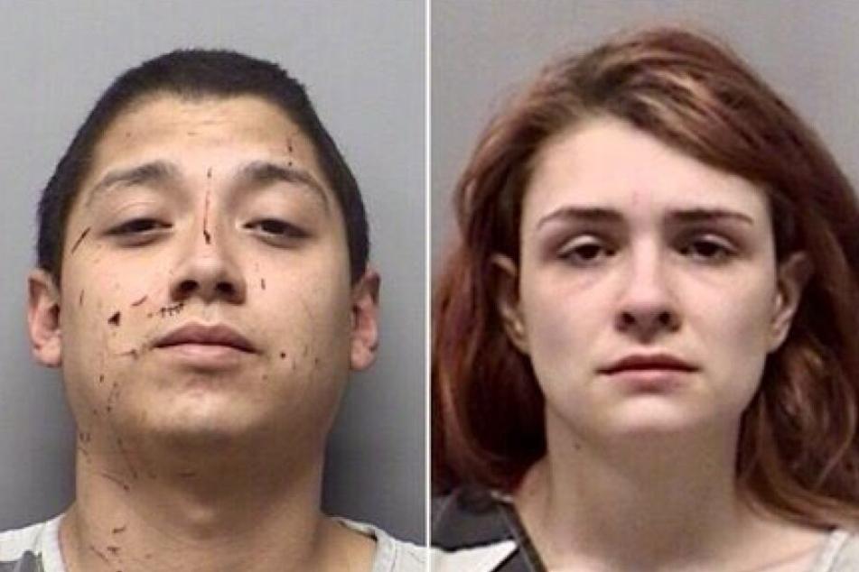 Andrew Joseph Fabila und Paige Harkings misshandelten ihre vier Kinder.