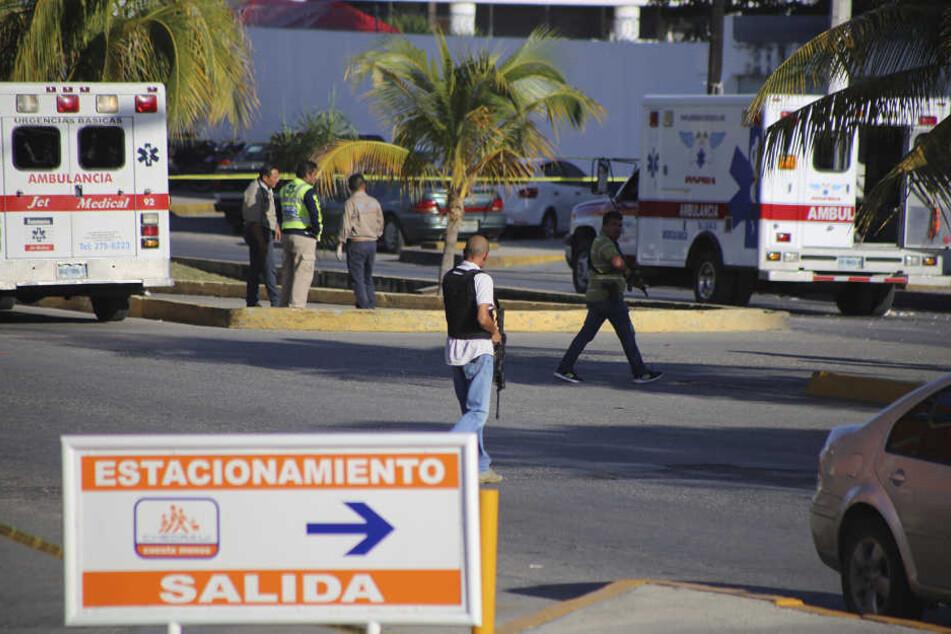 Im Badeort Cancun spielten sich die dramatischen Szenen ab. (Symbolbild)