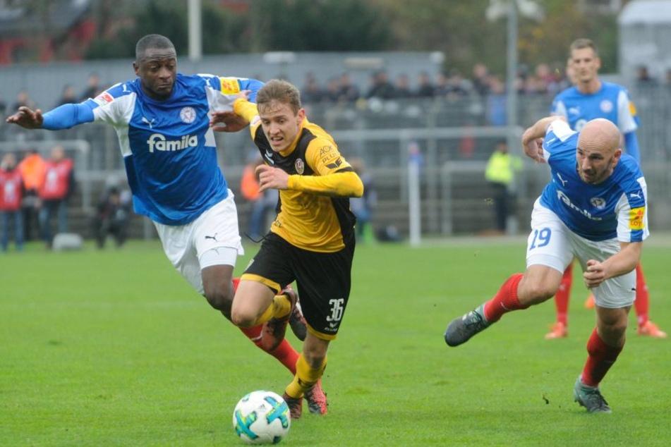 Niklas Hauptmann und seine Spieler hatten einen schweren Stand.